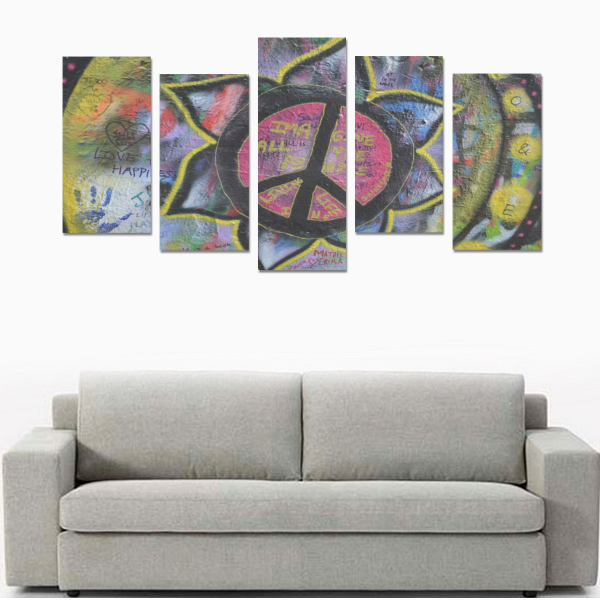Exclusive Street Pattern Canvas Wall Art