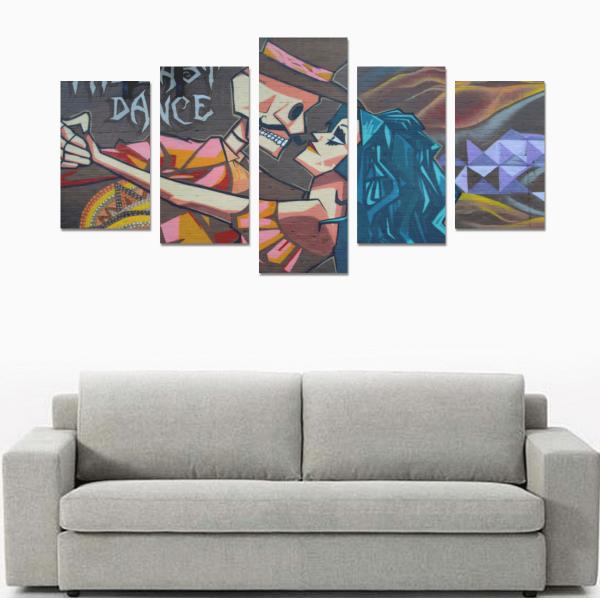 Ghost World Canvas Wall Art
