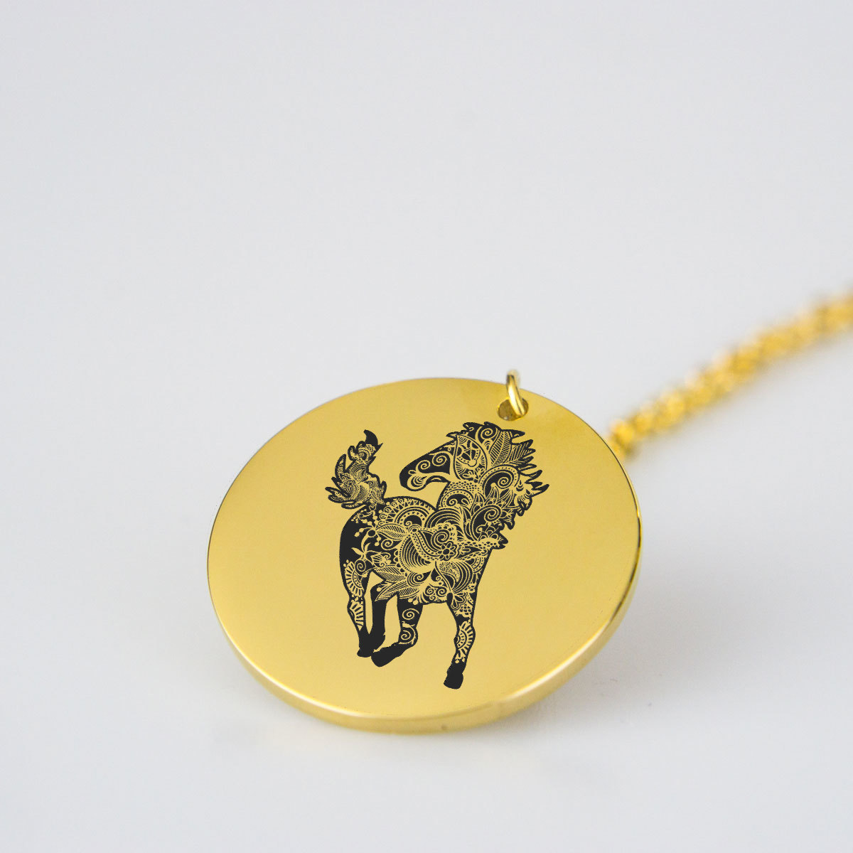 Superior Turtle Charm Necklace