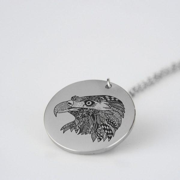 Magnificent Eagle Charm Necklace
