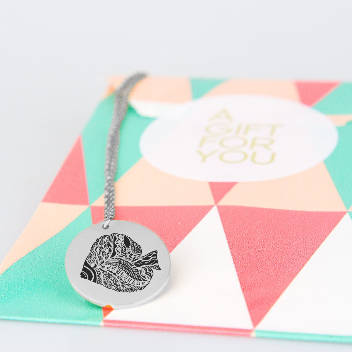 Angel Fish Charm Necklace