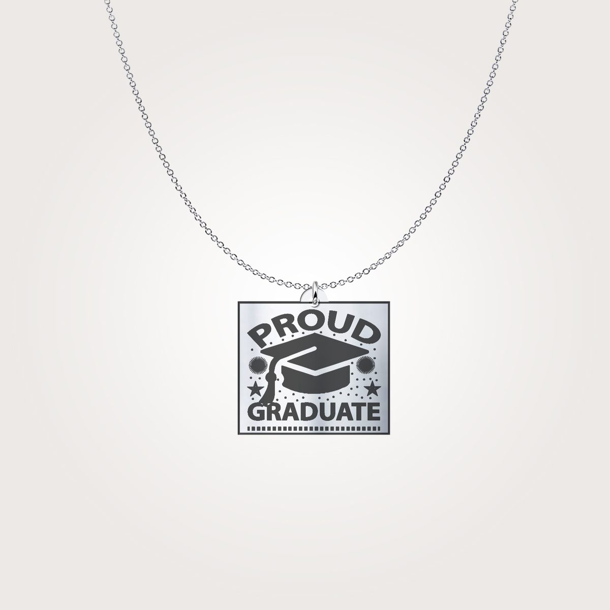 Proud Graduate Casual Necklace