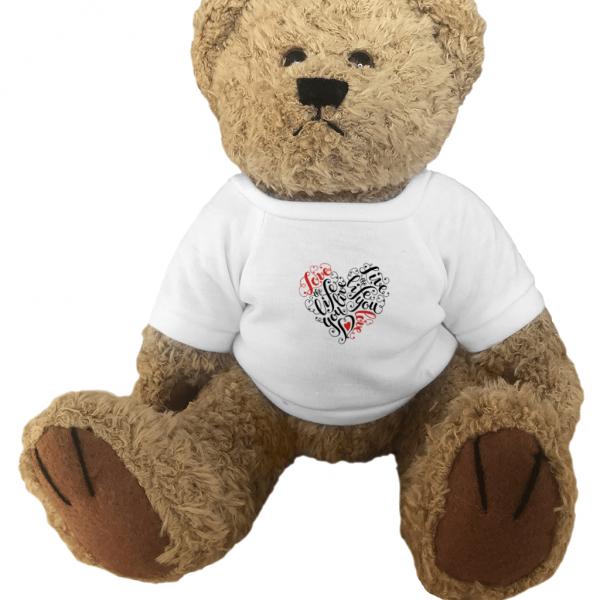Love The Life You Live Teddy Bear