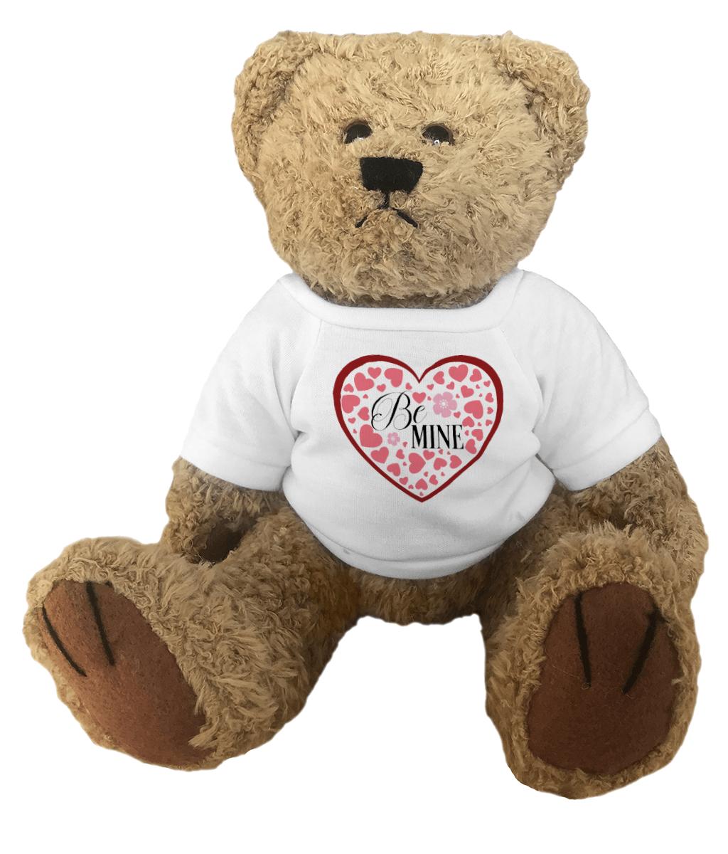 Be Mine Heart Teddy Bear
