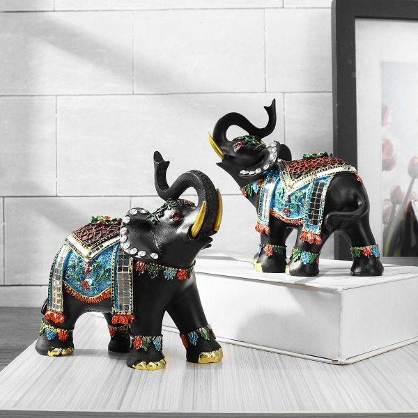 Attractive Elephant Resin Decoration Statue