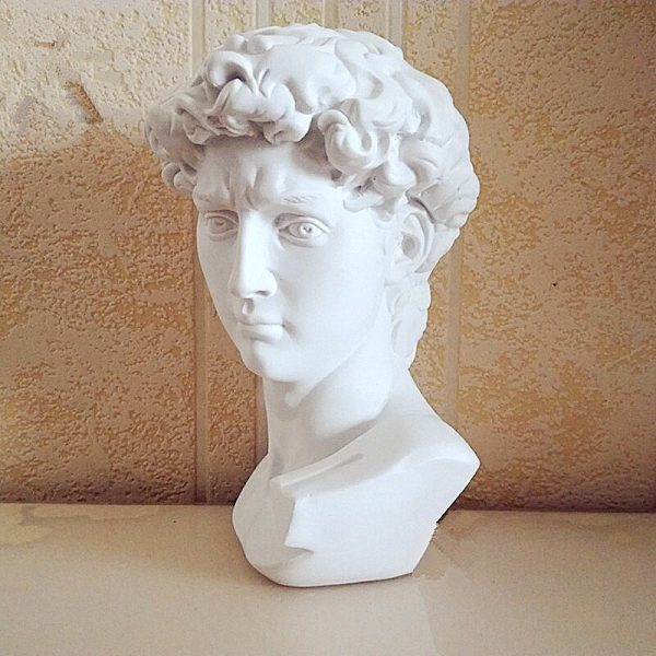 David Head Mini Statue