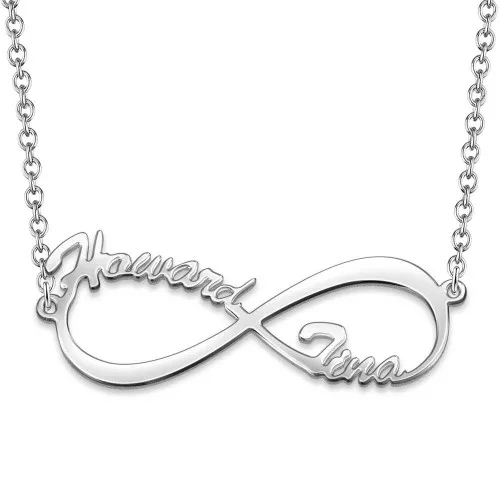 Personalized Promise Two Names Necklace
