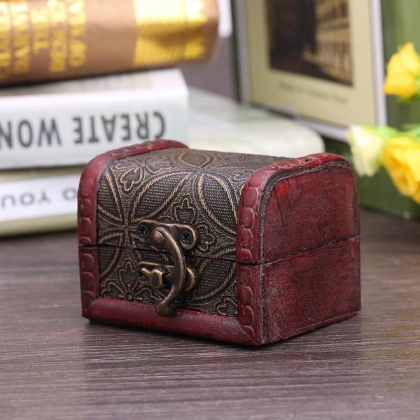 Gorgeous Jewelry Wooden Case