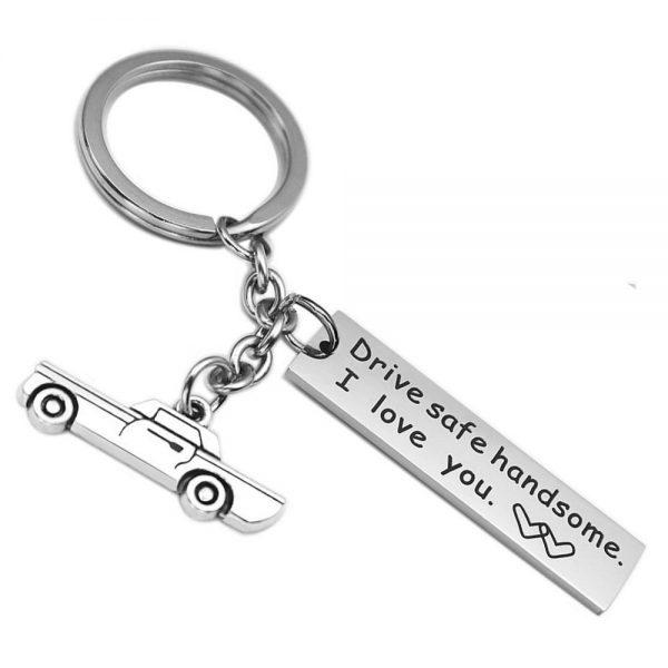 Drive Safe Key chain
