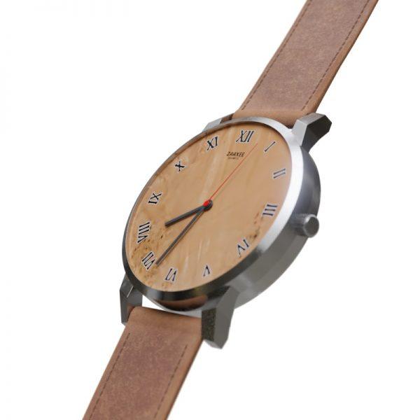 Beautiful Wood Walnut Quartz Watch