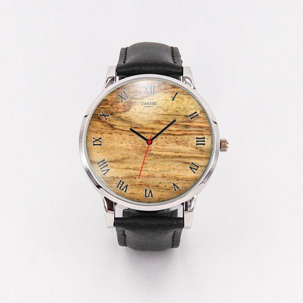 High Class Wood Style Quartz Watch
