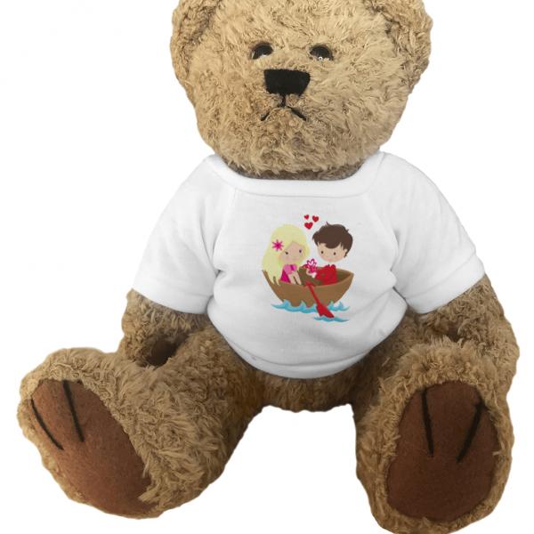 Teddy Bear Forever Love Couple