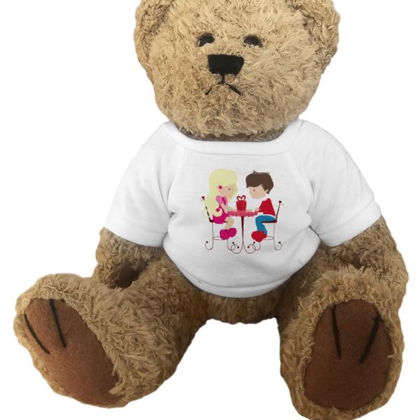 Teddy Bear Valentine Love Couple
