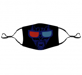 3D Glasses Protective Face Mask