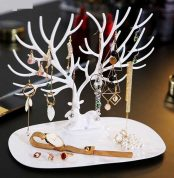 Deer Jewelry Display Stand Tray